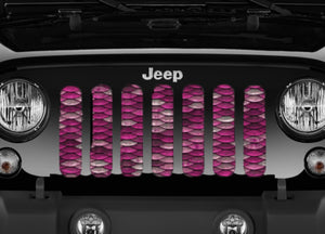 Mermaid Scales - Pink - Grille Insert