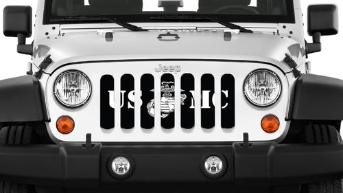 Motivated USMC Jeep Grille Insert