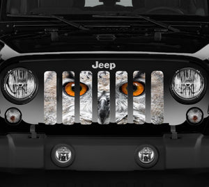 Night Owl Jeep Grille Insert