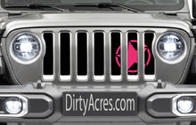 Oscar Mike Hot Pink Grille Insert