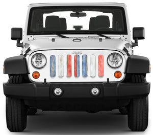 Patriotic Pickets Grille Insert