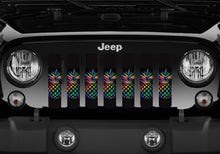 Pretty Pineapples Jeep Grille Insert