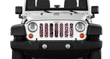 Pink Cheetah Print Grille Insert