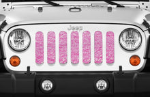 Baby Pink Glitter Storm Grille Insert