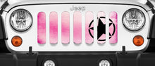 Pink Ombre Oscar Mike Hot Pink Grille Insert