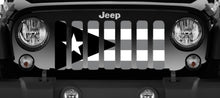 Puerto Rico Tactical Flag Jeep Grille Insert