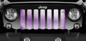 Purple Ombre Jeep Grille Insert