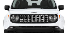 Black and White Camo Flag Jeep Grille Insert