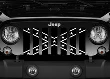 Black and White Rebel Grille Insert