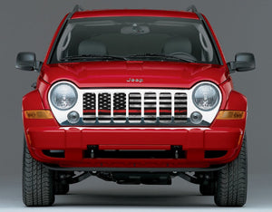 Red Steel - Thin Red Line Jeep Grille Insert * Monthly Special *