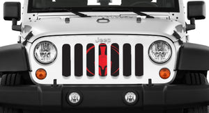 Red Warrior Grille Insert