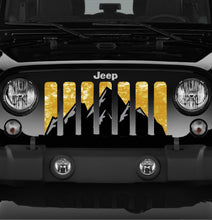 Rocky Top Gold Jeep Grille Insert