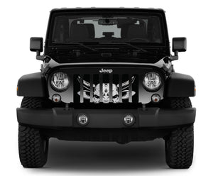 Running of the Bulls Jeep Grille Insert