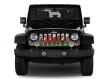 Rustic Welsh Dragon Flag Grille Insert