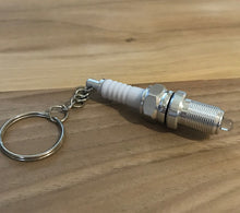 Lighted Spark Plug Key Chain