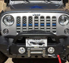 American Tactical Back the Blue Grille Insert