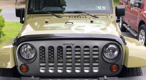 Tactical Woodland Stripe Grille Insert