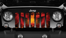 Ring Of Fire Jeep Grille Insert