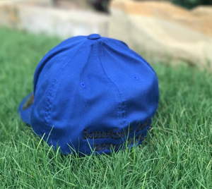 Blue Flex Fit Hat