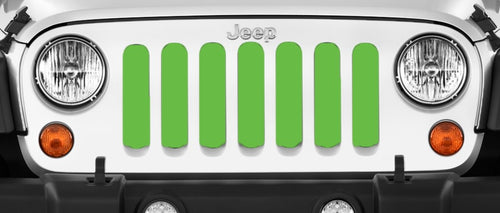 Solid Green Grille Insert
