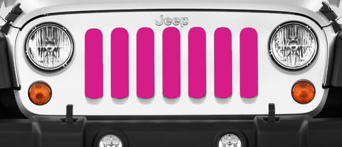 Solid Pink Grille Insert