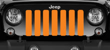 Solid Orange TN Jeep Grille Insert