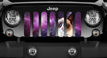 Spaced Out - Angry Cat Jeep Grille Insert