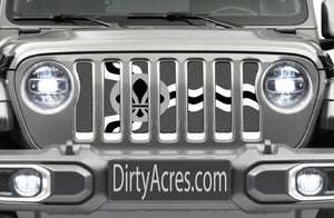 St Louis Tactical Flag Jeep Grille Insert