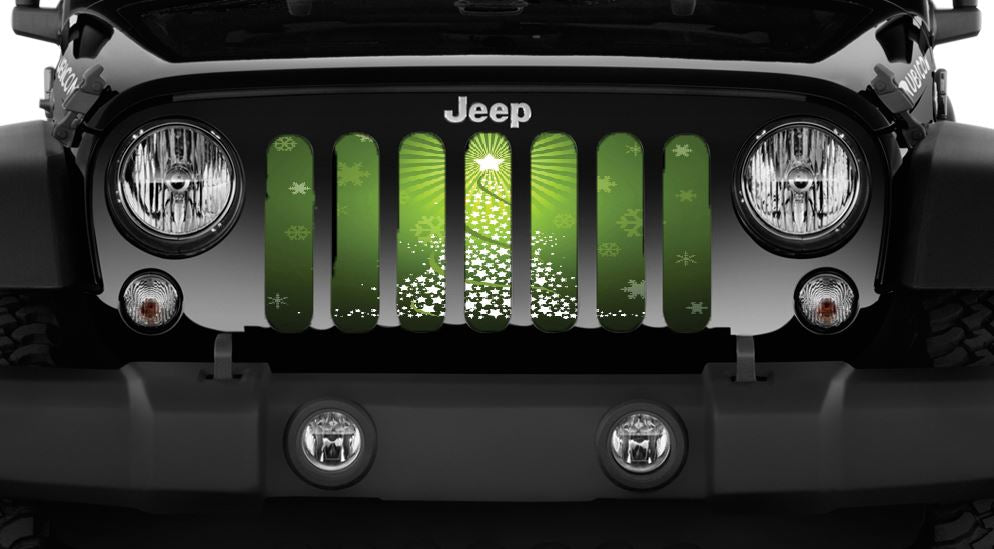 Starlight Fir Jeep Grille Insert
