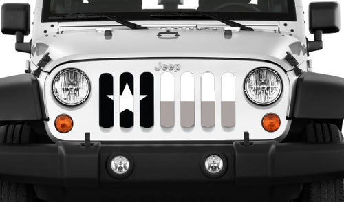Texas Tactical State Flag Jeep Grille Insert