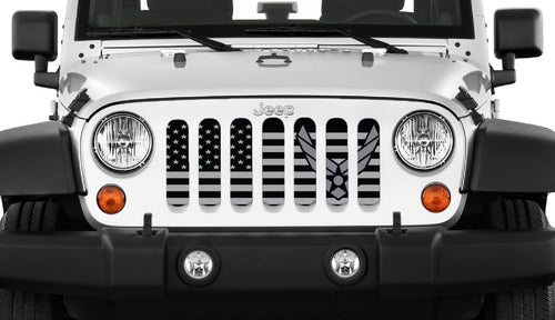 Tactical Air Force Flight Jeep Grille Insert