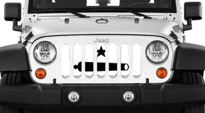 Come and Take It Jeep Grille Insert