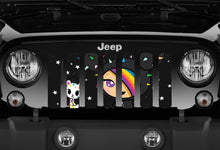 DOUBLE SIDED Anime Jeep Grille Insert