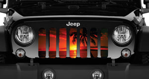 Tropical Breeze Jeep Grille Insert