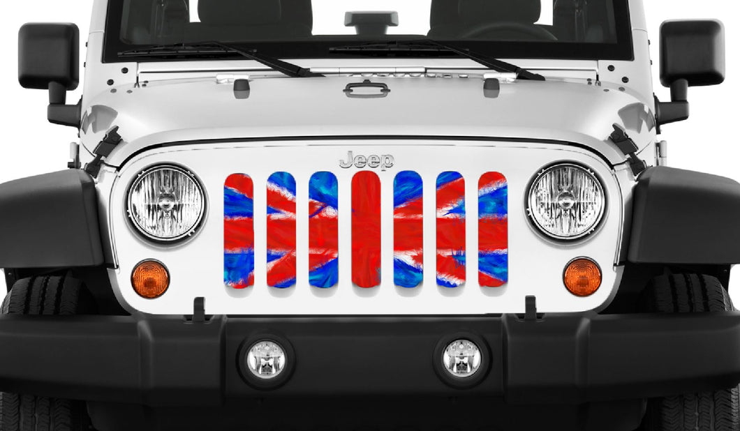 Union Jack Grille Insert