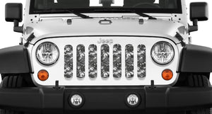 Urban Camo Tactical Grille Insert
