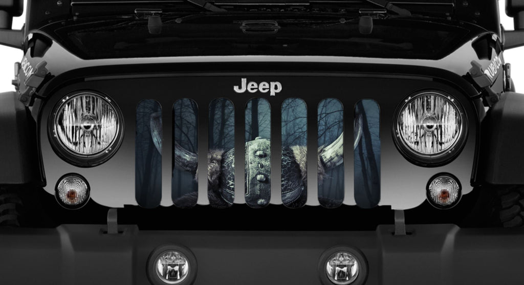 Jeep Wrangler Valhalla Grille Insert Dirty Acres