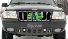Four Leaf Clover Jeep Grille Insert