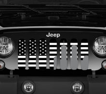 World Trade Center Black and White Tribute Grille Insert