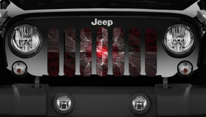 Warped Jeep Grille Insert