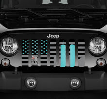 World Trade Center Teal Tribute Jeep Grille Insert