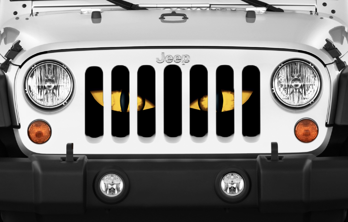 Chaos Yellow Eyes Grille Insert