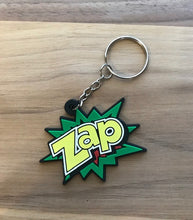 Action Phrase key Chain