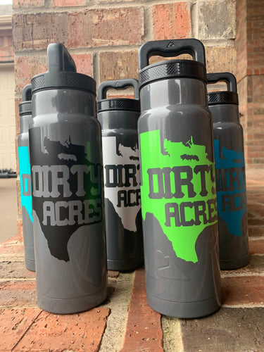 Dirty Acres Stainless Steel Water Bottle