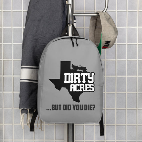 Dirty Acres Minimalist Backpack