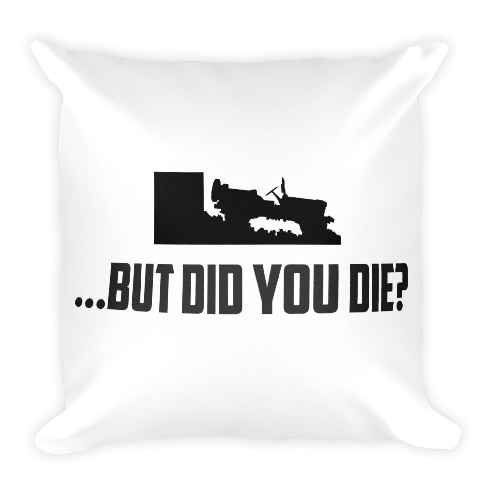Square Jeep Pillow