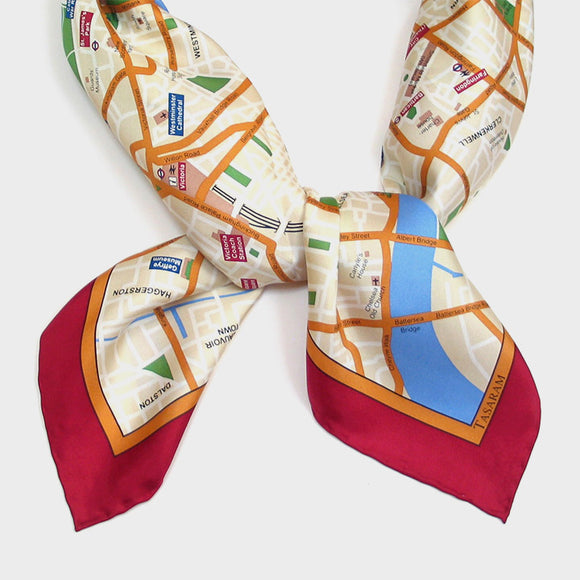 Map Scarves