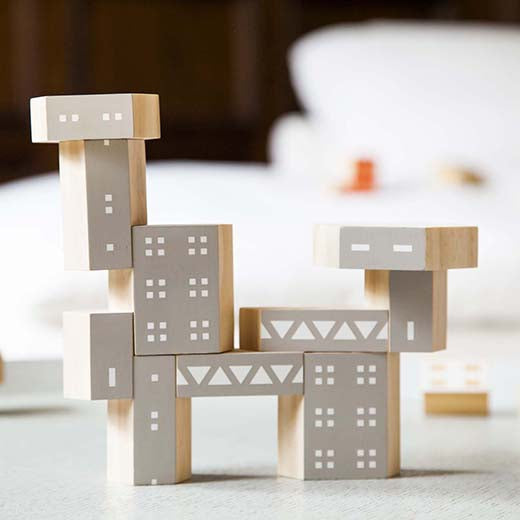 Blockitecture Brutalism Building Block Set