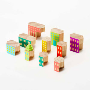 Blockitecture Deco Building Block Set Pieces