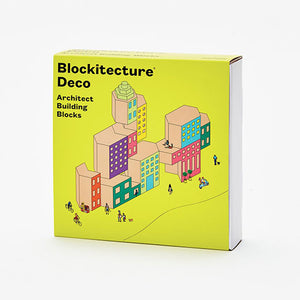 Blockitecture Deco Building Block Set Product Box Cover
